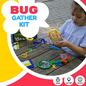 Bug catching kit Bug Exploration Explorer Outdoor Adventure Toys Nature Catcher Gather Bugs Kids Set