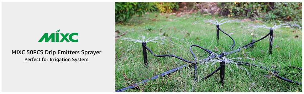drip irrigation sprayer sprinkler emitter kit