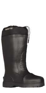 Nat's boots composite toe boots for men waterproof rubber work boots for men