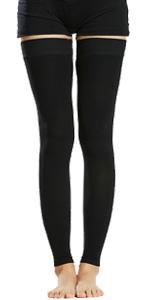 footless stockings