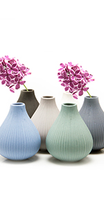 Chive Frost Clay Bud Vase
