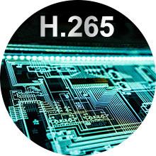 Advanced H.265+ Video Compression