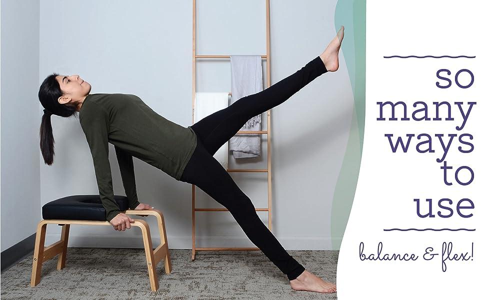 So many ways to use. Balance and Flex