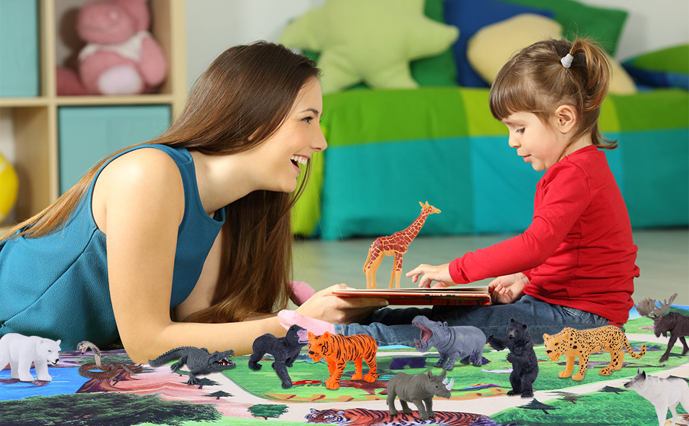 animal toys zoo toys gift for child