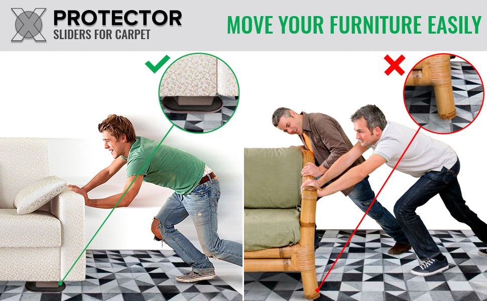 furniture sliders furniture movers Moving Sliders sliders for carpets carpet sliders x-protector