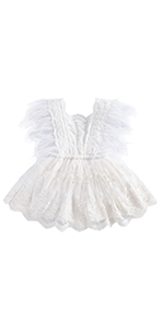 baby girl party romper dress