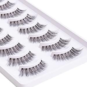 10 packs lashes