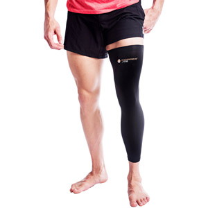 Washable no oder full leg inflammation hamstring full leg compression sleeve support sore muscles