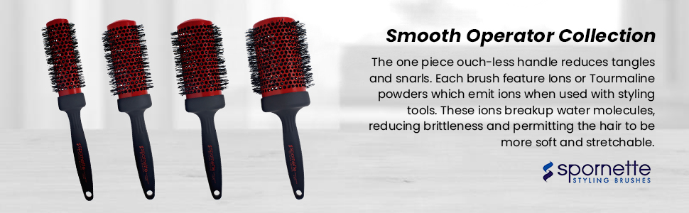 smooth operator round brush