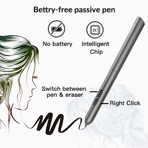 Bettry-free passive pen