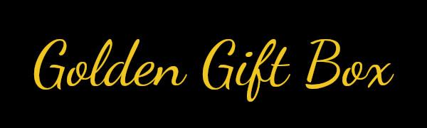 Golden Gift Box Logo