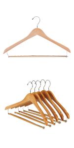 saree wooden hanger