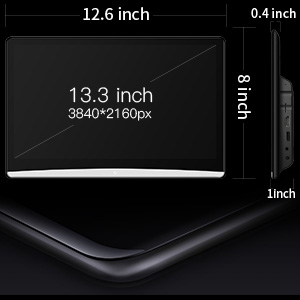 ultra-thin 13.3-inch Android car headrest video players