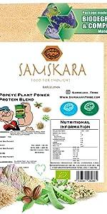 Proteina de Guisante (83%) en Polvo de Agricultura Ecológica ...