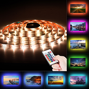 tv backlights with remote