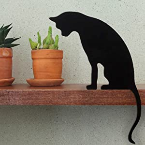 Cat Figurine for Home Decorations