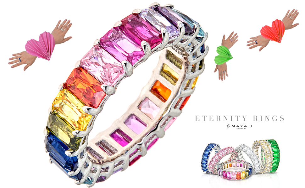 Love Takes Flight with Eternity Rings