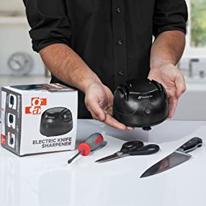 knife sharpener electric