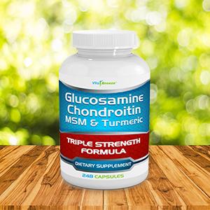 Glucosamine chondroitin msm turmeric VitaBreeze