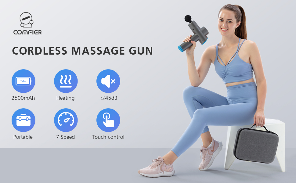 massage gun with heat  gun massager for muscle gun massager with heat Back massager with heat