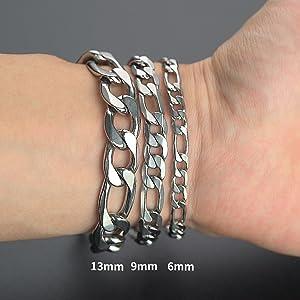 figaro bracelet for men