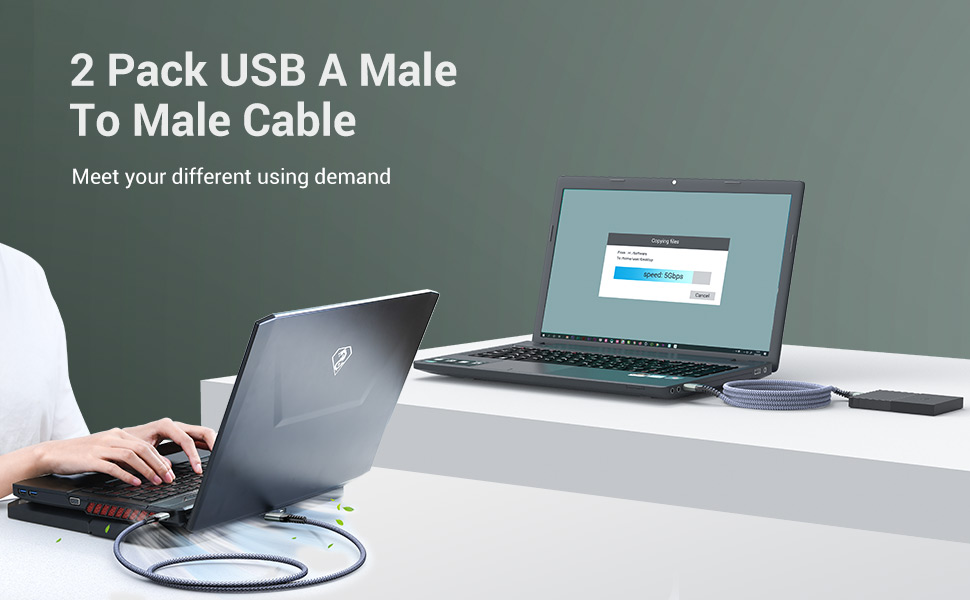 male to male cable