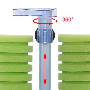 small sponge filter