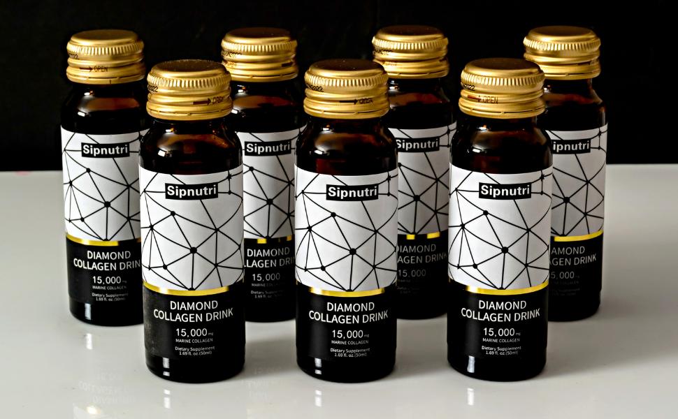 Sipnutri liquid marine collagen drink