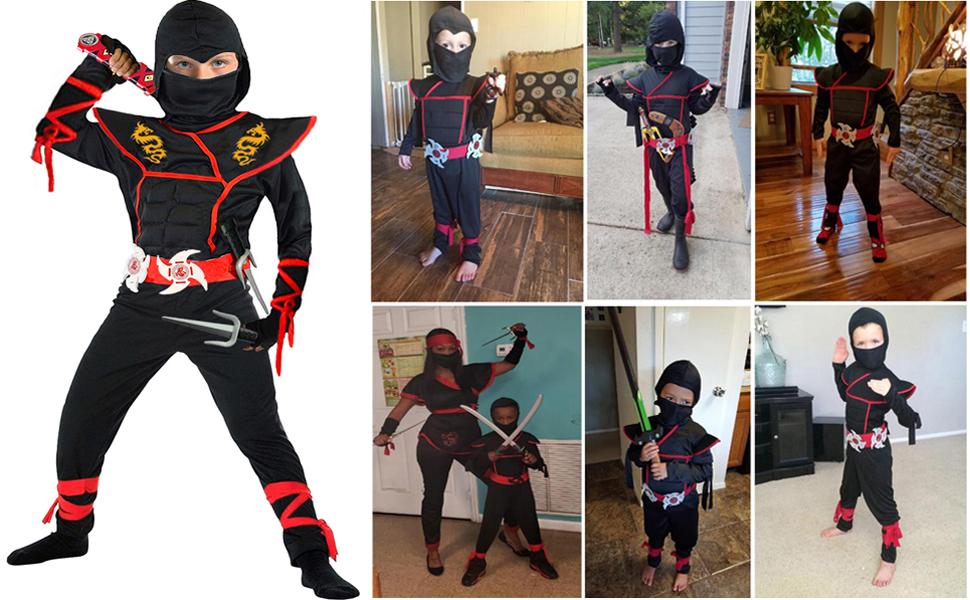 Ninja Costume Boy