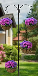 flower basket stake