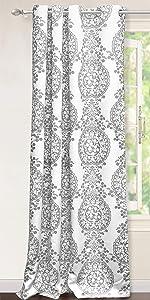 samantha window curtain 52 84 gray