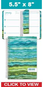 Green Watercolor Waves