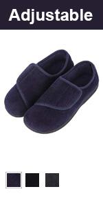 LongBay Men's Adjustable Slippers