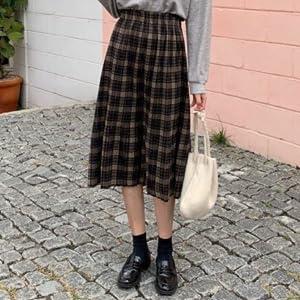 Size: Skirt Length / Waist ~ Max (cm) (S) 69.5/54-110 (M) 70/56-113 (L) 70.5/58-117 (XL) 71/60-120