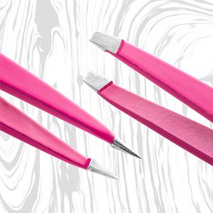 Precision Tweezers Hand Filed Tips