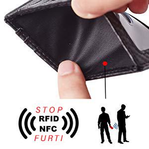 porta carte credito slim bronzi bethechange nucci uomo piccolo sottile porta protezione rfid ermato