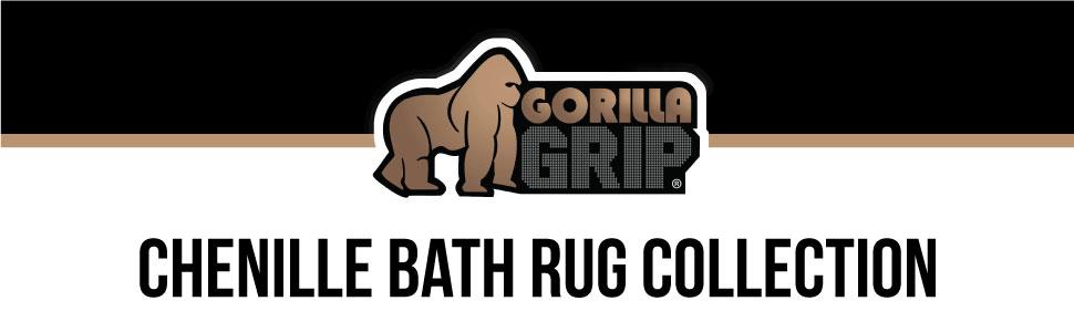 chenille bath rug
