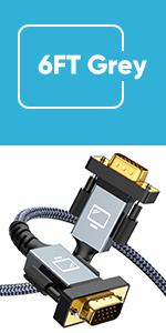 VGA to VGA cable 6FT