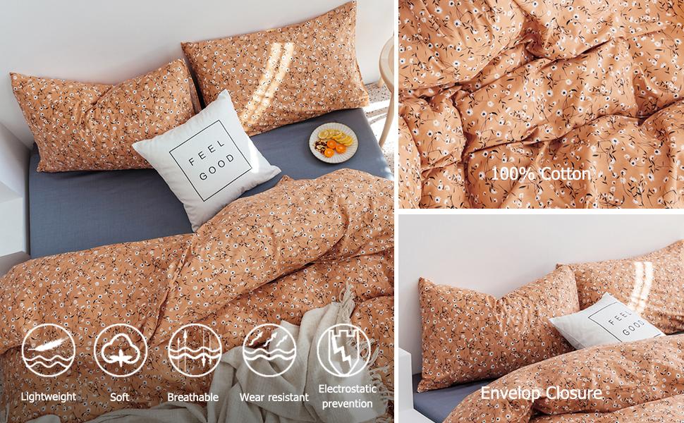VClife Cotton Comforter Cover Sets