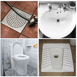 suitable for different types of toilets