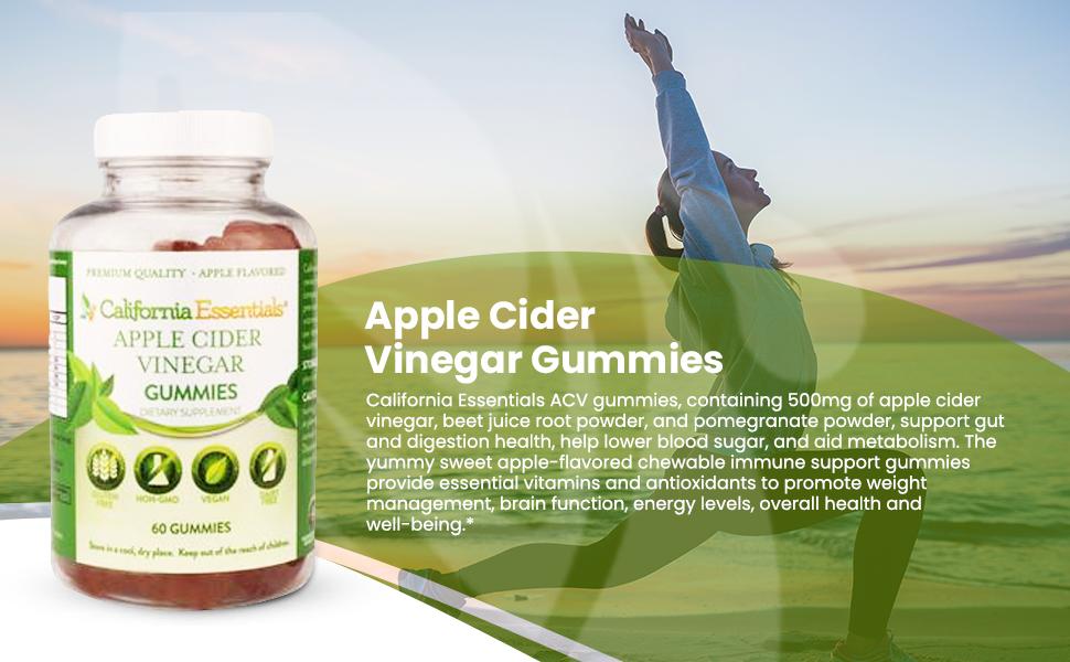 California essentials apple cider vinegar