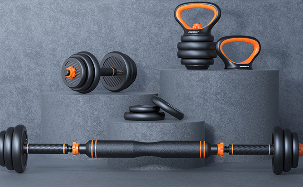 exercise & fitness dumbbells adjustable dumbbells free weights dumbbells set
