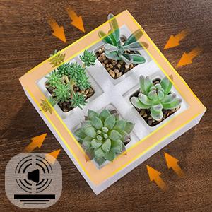 artificial succulents plants mini fake succulents faux succulents small face succulents