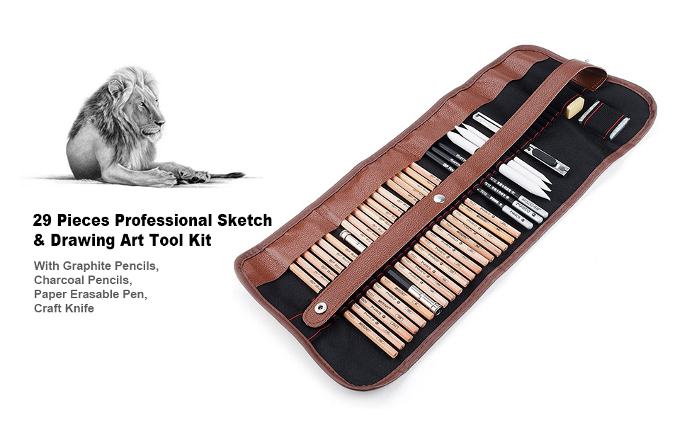 Professional Sketching & Drawing Art Tool Kit