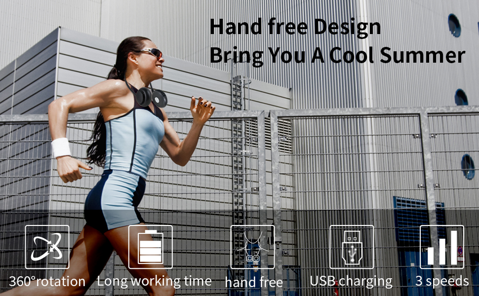 Hand free Design Bring You A Cool Summer