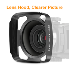 4K Video Camera With Lens Hood