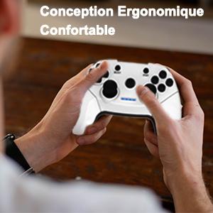 pc ps3 manette Conception Ergonomique Confortable