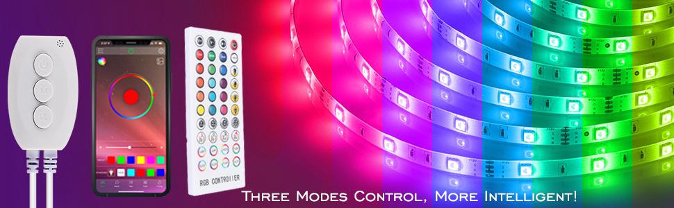 Lumi/ères de soir/ée Disco Son Bluetooth RGB Strobe Light activ/é DJ Party Rotating Ball Lights Lumi/ères d/étape de 10W RVB LED avec t/él/écommande Lecteur MP3 pour f/êtes de Danse f/êtes danniversaire