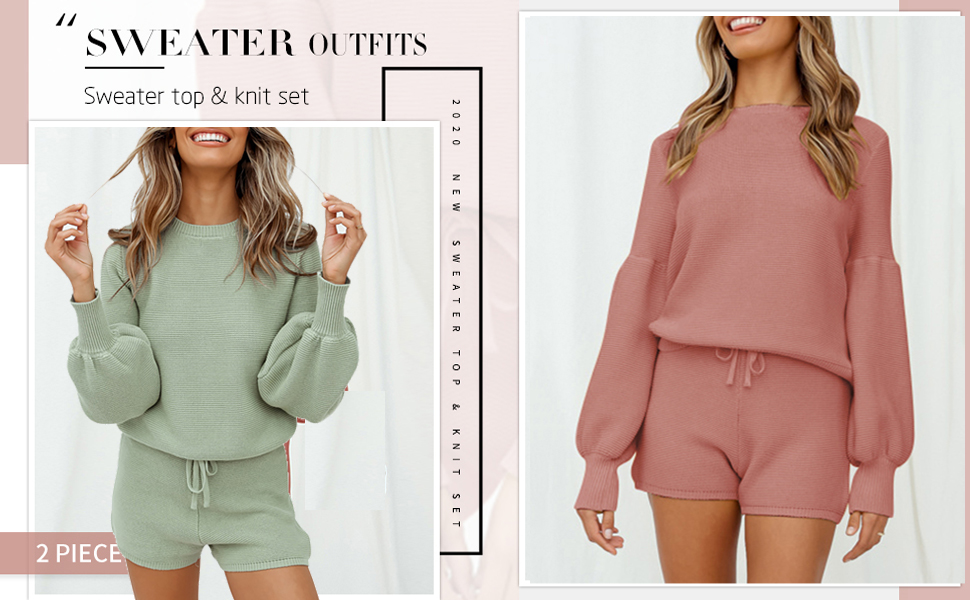SWEATER SWEATSUITS SET