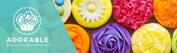 Cakebe 78 pcs Cake Decorating Supplies Kit - Icing Piping bags and Tips Cupcake Decorating Kit